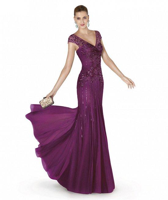 Коллекция вечерних платьев Pronovias 2015 фото №35