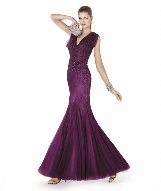 Коллекция вечерних платьев Pronovias 2015 фото №36