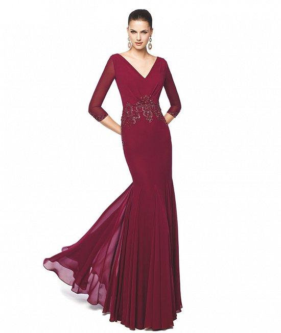 Коллекция вечерних платьев Pronovias 2015 фото №37
