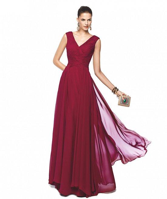 Коллекция вечерних платьев Pronovias 2015 фото №38