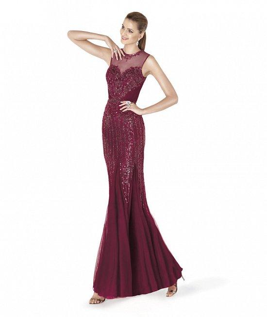 Коллекция вечерних платьев Pronovias 2015 фото №43