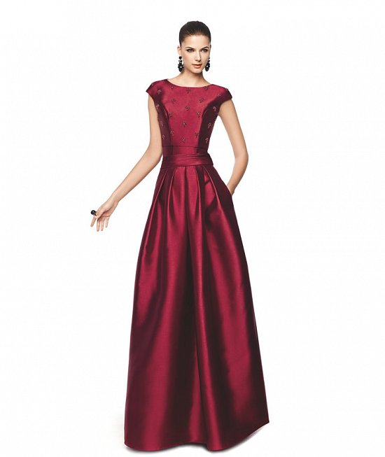 Коллекция вечерних платьев Pronovias 2015 фото №44
