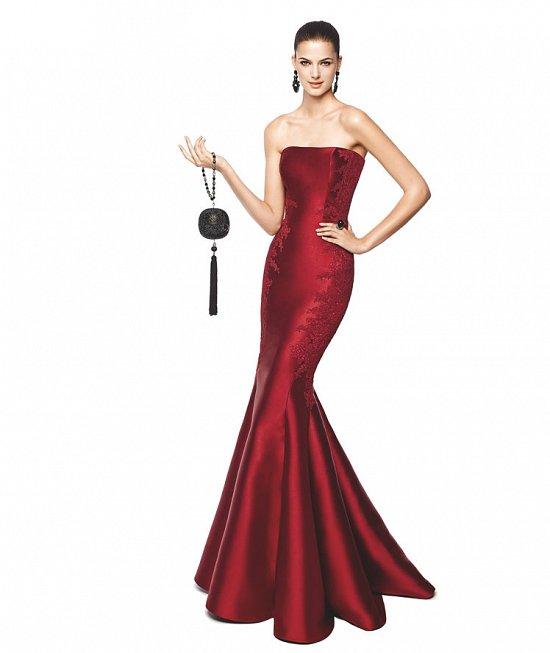 Коллекция вечерних платьев Pronovias 2015 фото №45