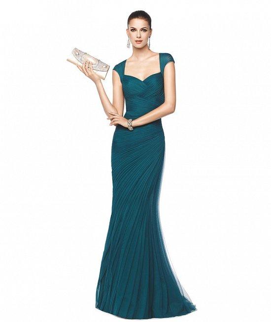 Коллекция вечерних платьев Pronovias 2015 фото №47