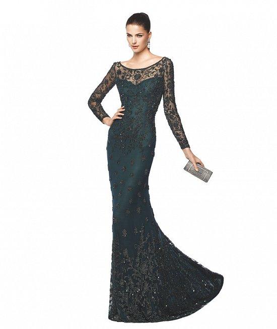 Коллекция вечерних платьев Pronovias 2015 фото №48