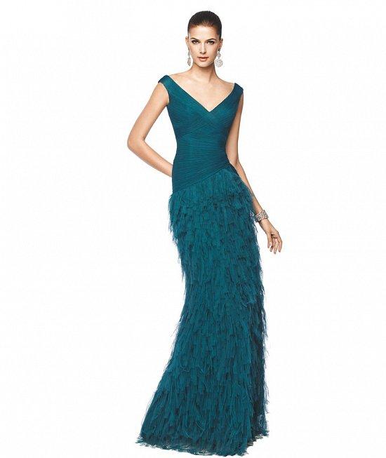 Коллекция вечерних платьев Pronovias 2015 фото №49