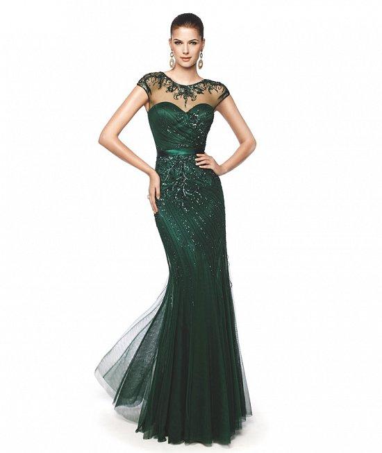 Коллекция вечерних платьев Pronovias 2015 фото №50