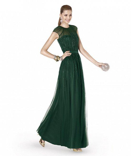 Коллекция вечерних платьев Pronovias 2015 фото №51