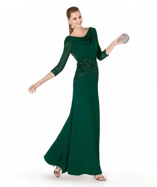 Коллекция вечерних платьев Pronovias 2015 фото №53