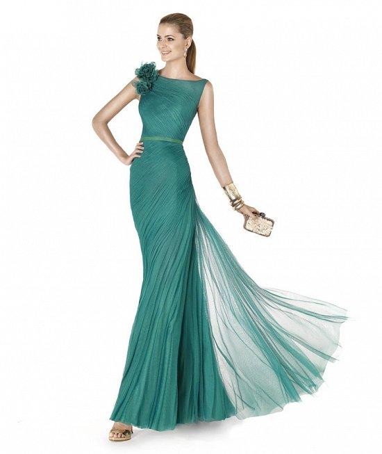 Коллекция вечерних платьев Pronovias 2015 фото №56