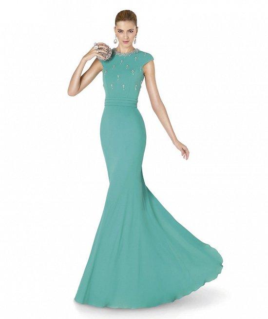 Коллекция вечерних платьев Pronovias 2015 фото №57