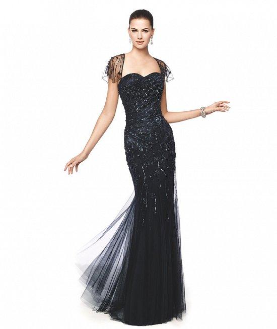 Коллекция вечерних платьев Pronovias 2015 фото №58