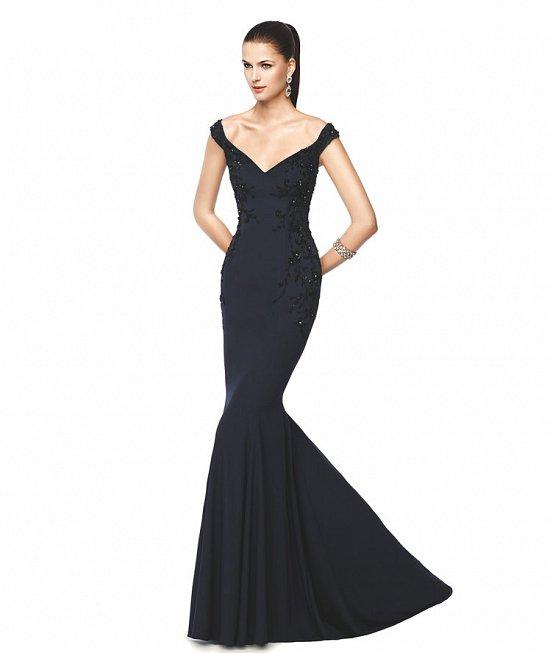 Коллекция вечерних платьев Pronovias 2015 фото №59