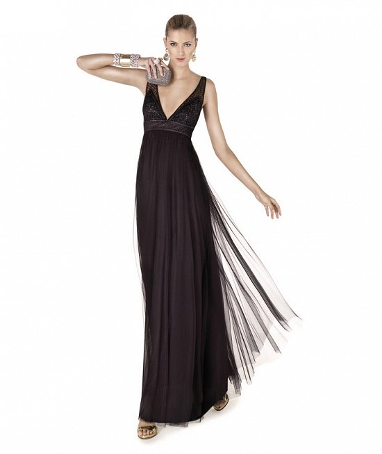 Коллекция вечерних платьев Pronovias 2015 фото №62