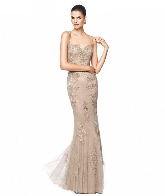 Коллекция вечерних платьев Pronovias 2015 фото №64