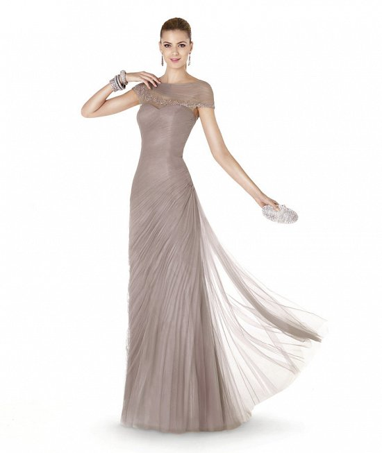 Коллекция вечерних платьев Pronovias 2015 фото №65