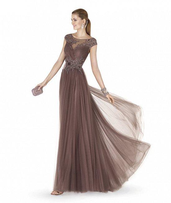 Коллекция вечерних платьев Pronovias 2015 фото №66