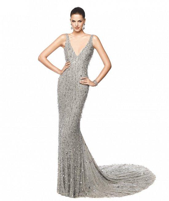Коллекция вечерних платьев Pronovias 2015 фото №67
