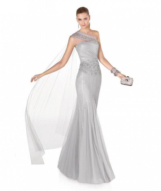 Коллекция вечерних платьев Pronovias 2015 фото №68