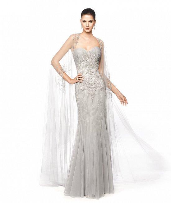 Коллекция вечерних платьев Pronovias 2015 фото №69