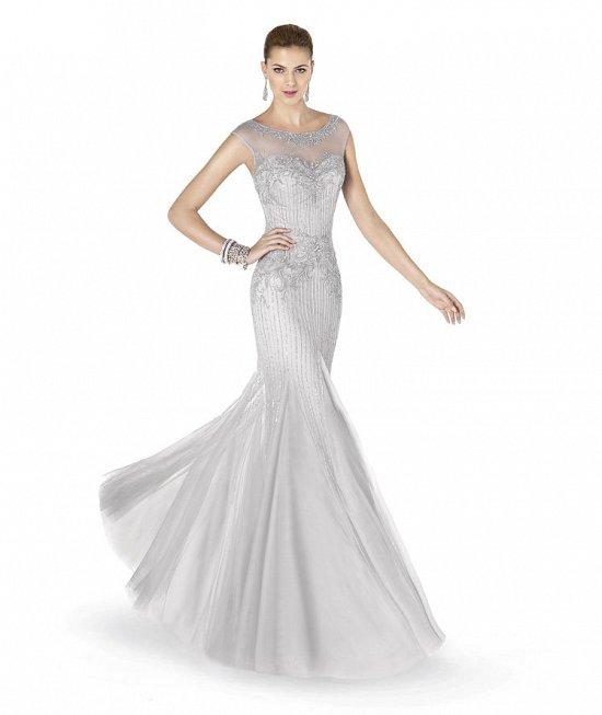 Коллекция вечерних платьев Pronovias 2015 фото №70