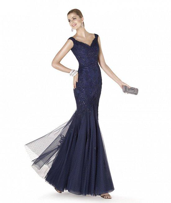 Коллекция вечерних платьев Pronovias 2015 фото №72