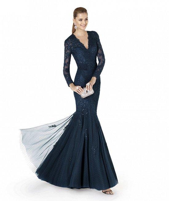 Коллекция вечерних платьев Pronovias 2015 фото №73