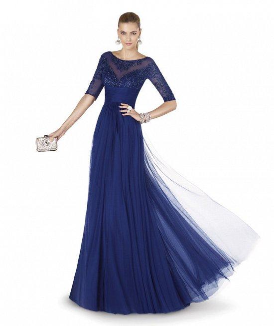 Коллекция вечерних платьев Pronovias 2015 фото №75