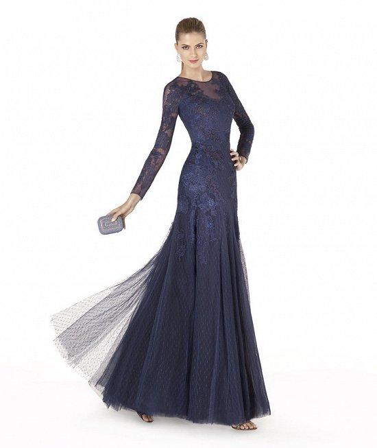 Коллекция вечерних платьев Pronovias 2015 фото №78
