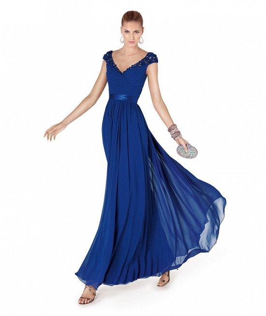 Коллекция вечерних платьев Pronovias 2015 фото №79