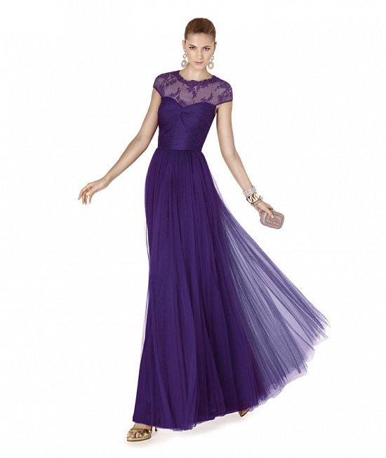 Коллекция вечерних платьев Pronovias 2015 фото №82
