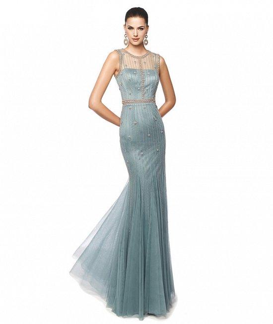 Коллекция вечерних платьев Pronovias 2015 фото №84