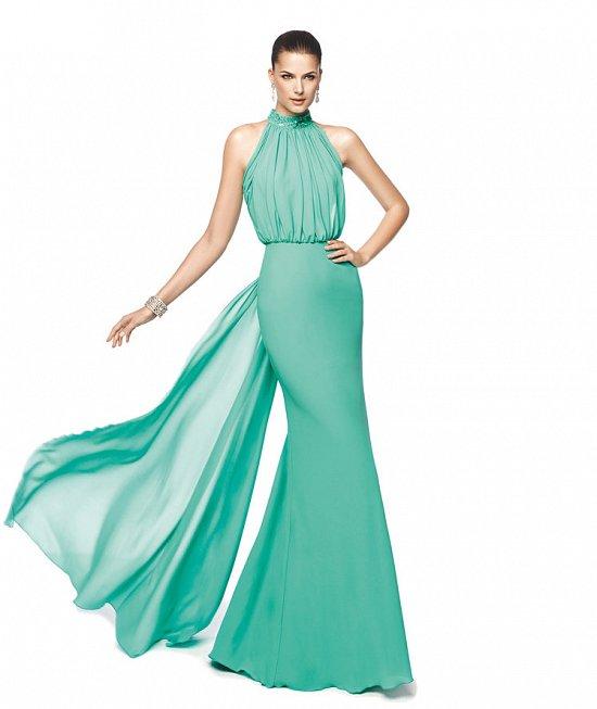 Коллекция вечерних платьев Pronovias 2015 фото №85