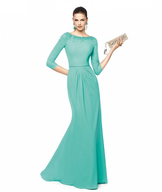 Коллекция вечерних платьев Pronovias 2015 фото №86