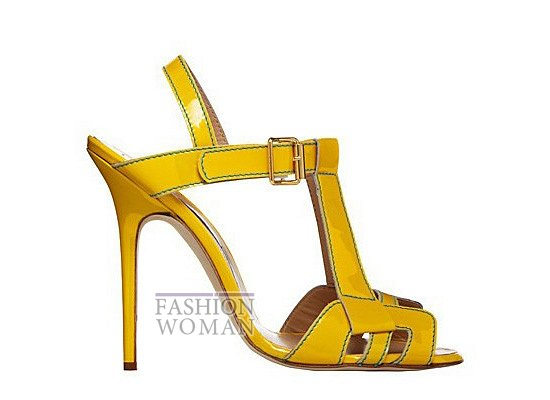 Коллекция женской обуви Manolo Blahnik весна-лето 2012 фото №1