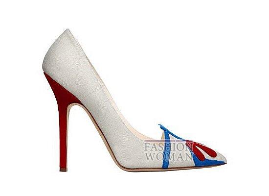 Коллекция женской обуви Manolo Blahnik весна-лето 2012 фото №2