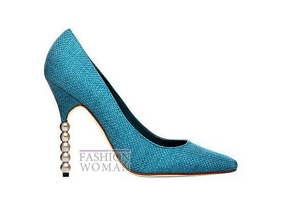 Коллекция женской обуви Manolo Blahnik весна-лето 2012 фото №11