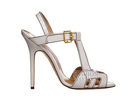 Коллекция женской обуви Manolo Blahnik весна-лето 2012 фото №13