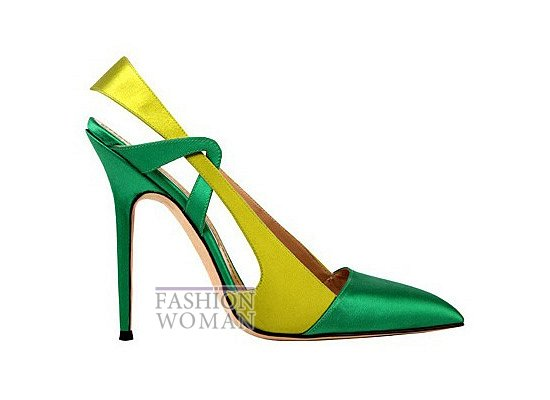 Коллекция женской обуви Manolo Blahnik весна-лето 2012 фото №15
