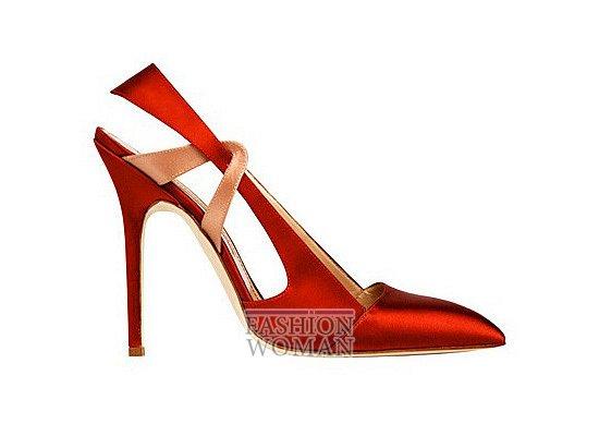 Коллекция женской обуви Manolo Blahnik весна-лето 2012 фото №16