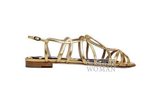 Коллекция женской обуви Manolo Blahnik весна-лето 2012 фото №18