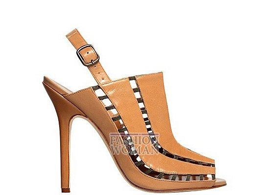 Коллекция женской обуви Manolo Blahnik весна-лето 2012 фото №19