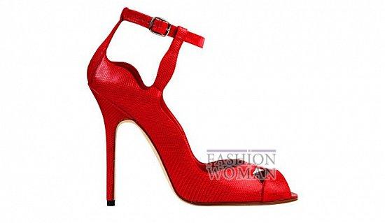 Коллекция женской обуви Manolo Blahnik весна-лето 2012 фото №3