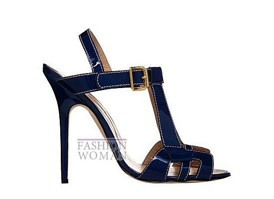 Коллекция женской обуви Manolo Blahnik весна-лето 2012 фото №21