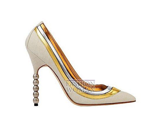 Коллекция женской обуви Manolo Blahnik весна-лето 2012 фото №24