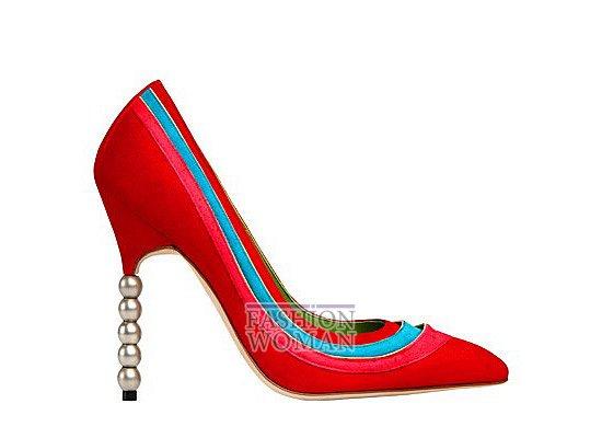 Коллекция женской обуви Manolo Blahnik весна-лето 2012 фото №25