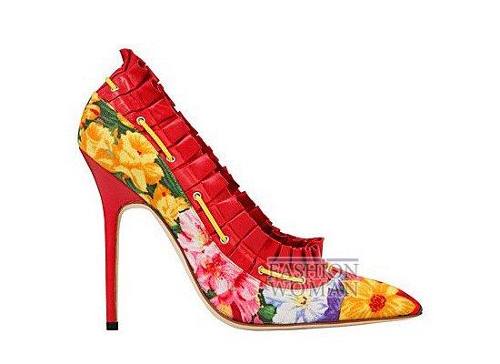Коллекция женской обуви Manolo Blahnik весна-лето 2012 фото №27