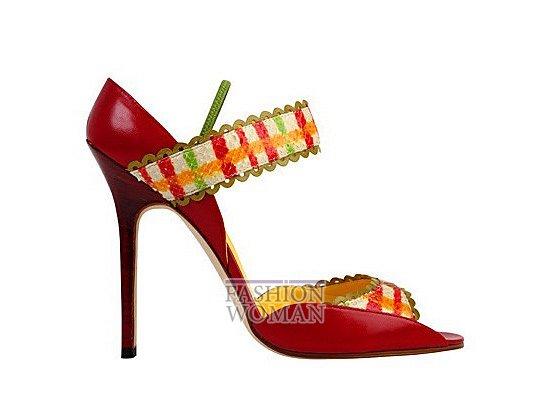 Коллекция женской обуви Manolo Blahnik весна-лето 2012 фото №28
