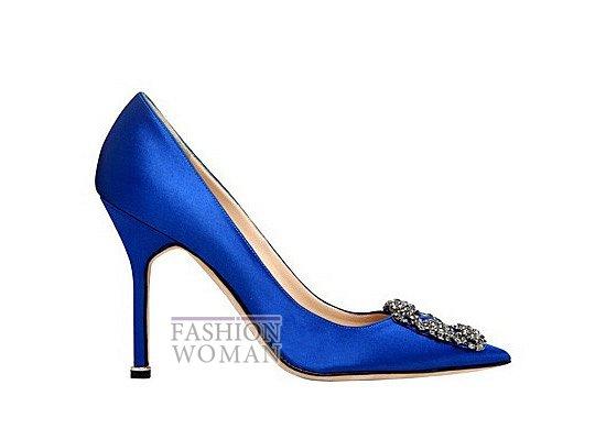 Коллекция женской обуви Manolo Blahnik весна-лето 2012 фото №29