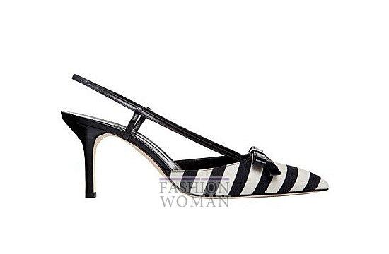 Коллекция женской обуви Manolo Blahnik весна-лето 2012 фото №30